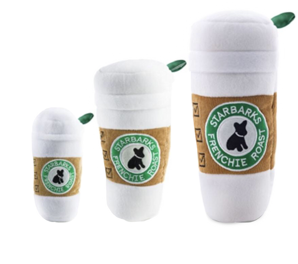 Haute Diggity Dog Starbarks Coffee Cup Toy