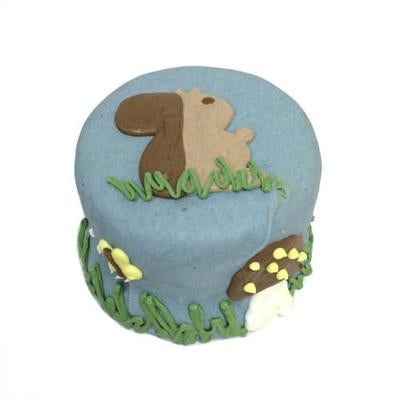 Bubba Rose Biscuit Co. Squirrel Baby Birthday Cake (Shelf Stable) Dog Treat