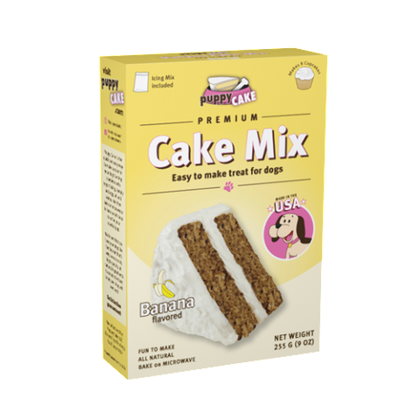 Puppy Cake Banana Flavor Cake Mix