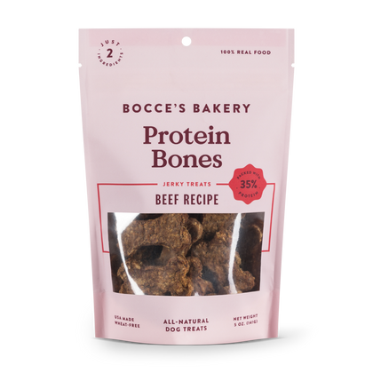 Bocce's Bakery Protein Bones Recipe Dog Biscuit