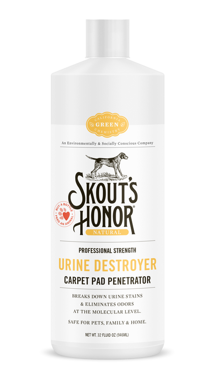 Skout's Honor Urine Destroyer Carpet Pad Penetrator 32oz - Paw Naturals