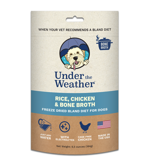 Under The Weather Rice, Chicken & Bone Broth Bland Diet 6.5oz