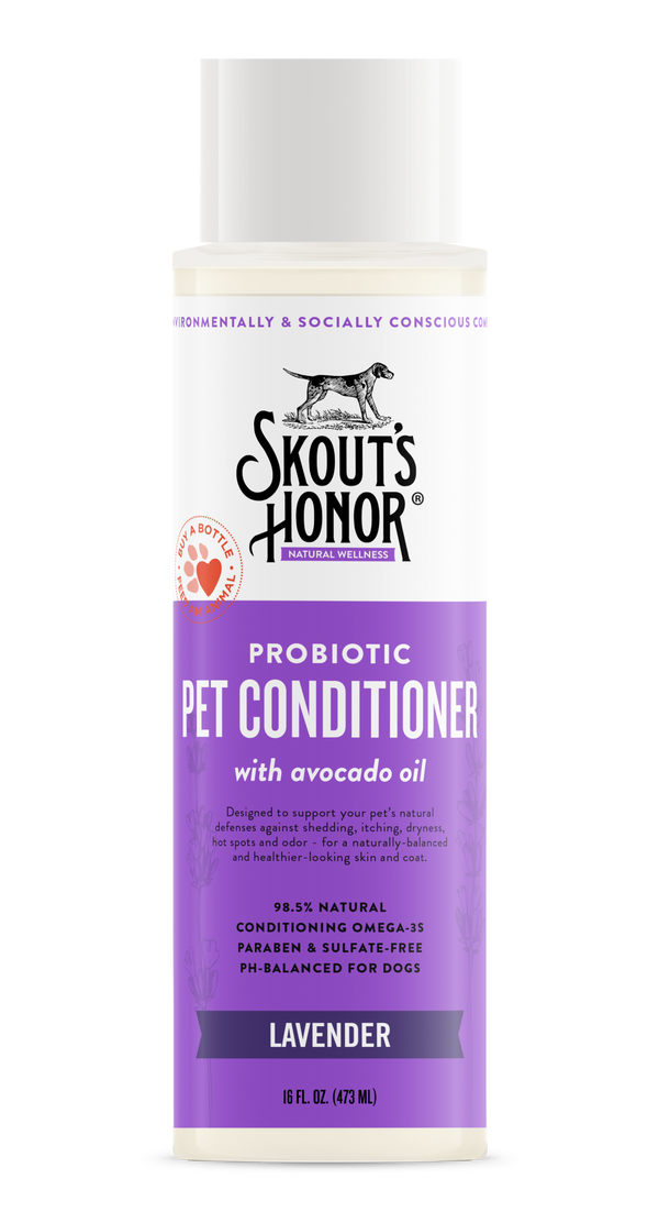Skout's Honor Probiotic Conditioner Lavender 16oz