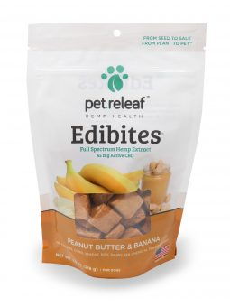 Pet Releaf 7.5oz Edibites: Peanut Butter & Banana