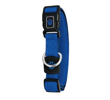 Doco Puffy Air Dog Collar Blue / Small - Paw Naturals