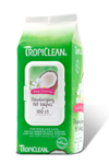 Tropiclean Deep Cleaning Deodorizing Wipes 100ct