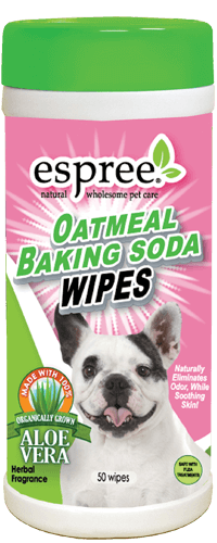 Espree Oatmeal Baking Soda Wipes 50ct