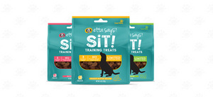 Etta Says Sit Training Treats for Dog 6oz