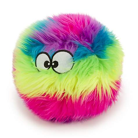 goDog FURBALLZ RAINBOW Dog Toy