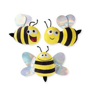Pet Shop by Fringe Studio Bumble Bees Small Dog Toys - Set Of 3