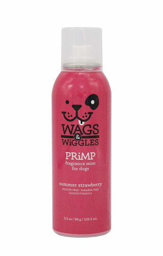 Wags & Wiggles Primp Fragrance Mist Summer Strawberry