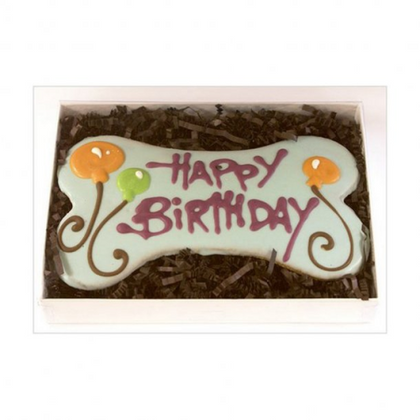 Pawsitively Gourmet Happy Birthday Bone Packaged Bakery Treat