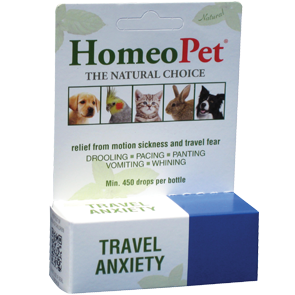 Homeopet Travel Anxiety Dog & Cat Supplement