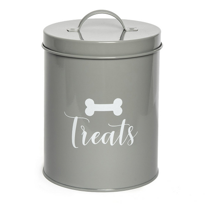 Park Life Designs Jasper Grey Treat Canister - Paw Naturals
