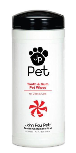 John Paul Pet Tooth & Gum Wipes