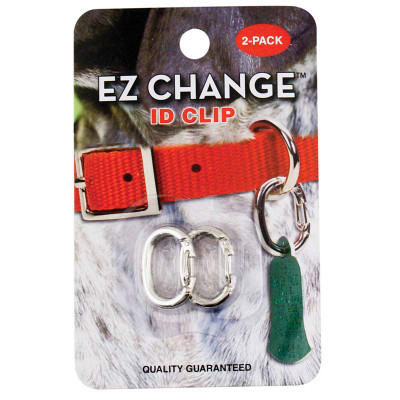 Coastal Pet EZ Change ID Clip Nickel-plated Collar Accessory