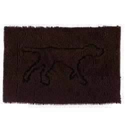 Tall Tails Wet Paw Mat Brown Medium - Paw Naturals