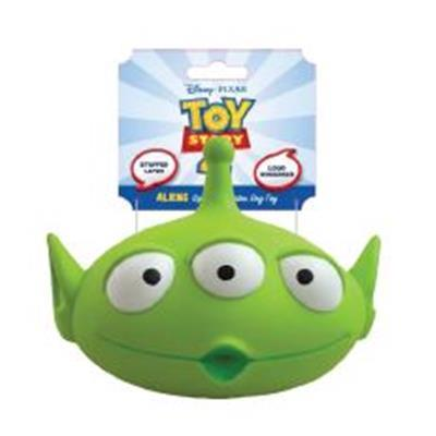 Disney Toy Story 4 Alien Latex Toy Dog Toy - Paw Naturals