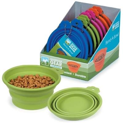 Guardian Gear Bend-a-Bowl Silicone Travel Bowls