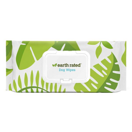 Earth Rated Lavender Scented Grooming Wipes for Dog & Cats - Paw Naturals