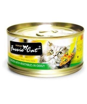 Fussie Cat Prevent Uti Chicken And Vegetables In Gravy 2.82oz Canned Cat Food