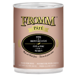 Fromm Pork & Brown Rice Pate Canned Dog Food