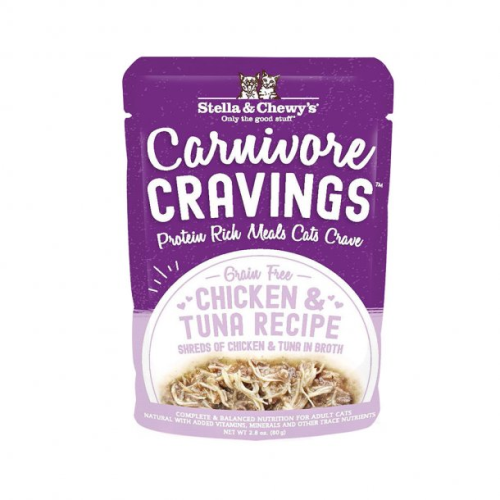 Stella & Chewy's Carnivore Cravings Wet Cat Food Pouch 2.8oz