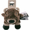 Tall Tails Plush Buffalo Dog Toy 9""