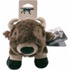 "Tall Tails Plush Squeaker Buffalo 9"" Dog Toy"