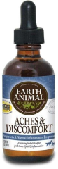 Earth Animal Organic Herbal Remedy Animal Aches & Discomfort 2oz - Paw Naturals