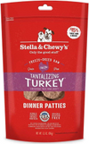 Stella & Chewy's Tantalizing Turkey Dinner Patties Raw Freeze-Dried Dog Food