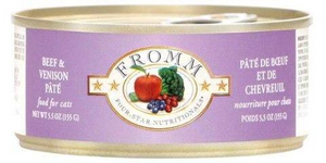 Fromm Beef & Venison 5oz Canned Cat Food
