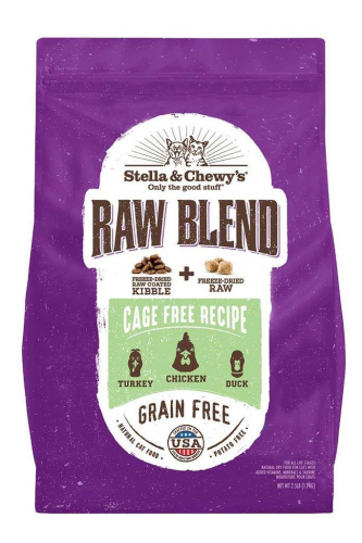 Stella & Chewy's Raw Blend Cage Free Recipe Dry Cat Food - Paw Naturals