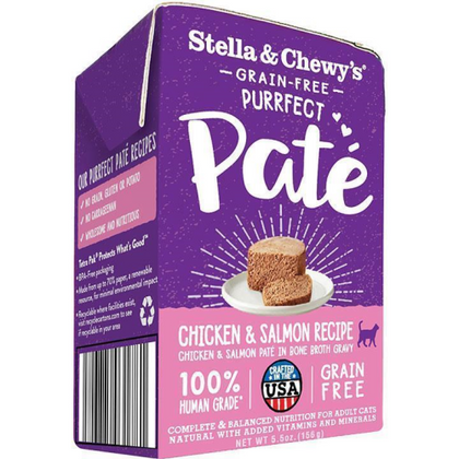 Stella & Chewy's Purrfect Pate Carton 5.5oz Canned Cat Food