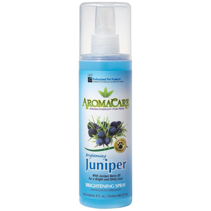 Professional Pet Products AromaCare Brightening Juniper Spray 8oz - Paw Naturals
