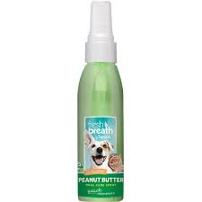 Tropiclean Fresh Breath Peanut Butter Oral Care Spray 4oz