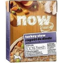 Now! Fresh Grainfree Dog Turkey Stew 12.5 Oz