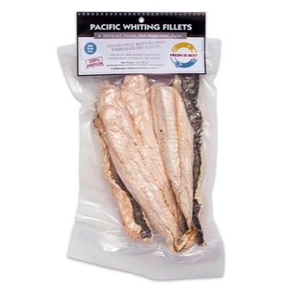 Fresh Is Best Freeze-Dried Pacific Whiting Fillets 3oz - Paw Naturals