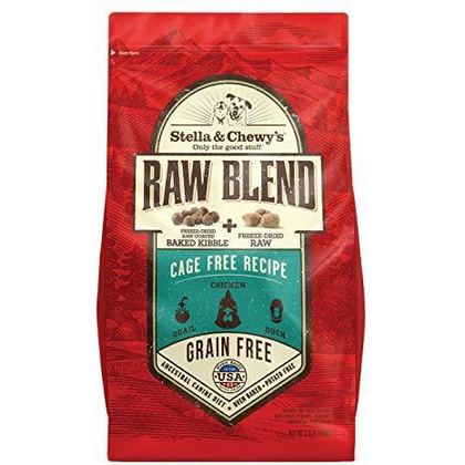 Stella & Chewy's Raw Blend Cage Free Recipe Dry Dog Food 10lb - Paw Naturals