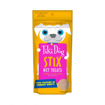 Tiki Pet Dog Stix Wet Treat 3oz