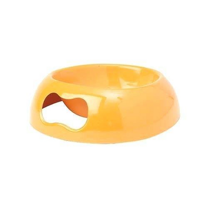 Petrageous Melaware Lolipups Collection Easy Lift Bowl Orange 2.5 Cups - Paw Naturals