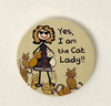 Dog Speak Yes, I Am The Cat Lady Car Coaster - Paw Naturals