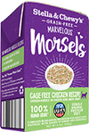 Stella & Chewy's Marvelous Morsels Cartons 5.5oz Canned Cat Food Chicken - Paw Naturals
