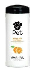 John Paul Pet Body & Paws Wipes