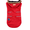 Sparky & Co Red Winter Parka With Faux Fur-Lined Hood Small - Paw Naturals