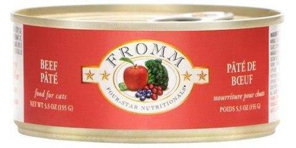 Fromm Beef Pate 5.5oz Canned Cat Food