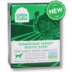 Open Farm Rustic Stew Turkey Canned Dog Food 12.5oz