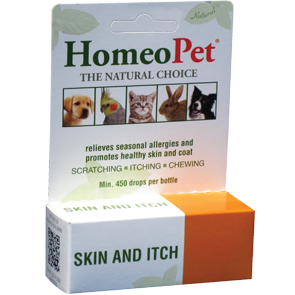 HomeoPet Skin & Itch Relief Herbal Remedy for Dogs & Cats - Paw Naturals