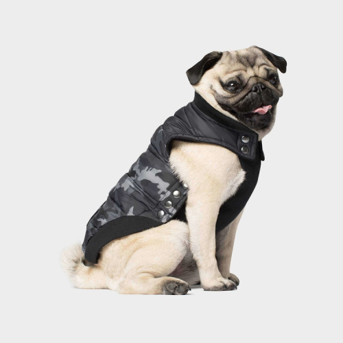 Canada Pooch Summit Stretch Vest In Black Camo