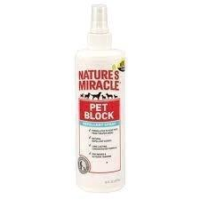 Nature's Miracle Pet Block Repellent Spray 8oz
